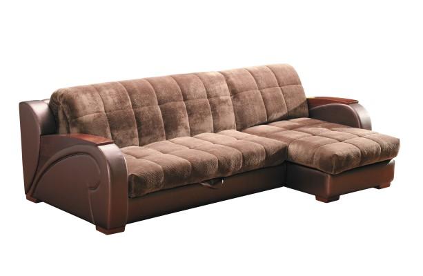 Угловой диван-кровать Кастанья